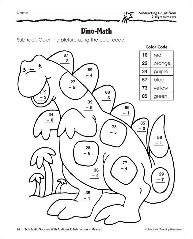Subtraction Worksheets Math Subtraction 2nd Grade
