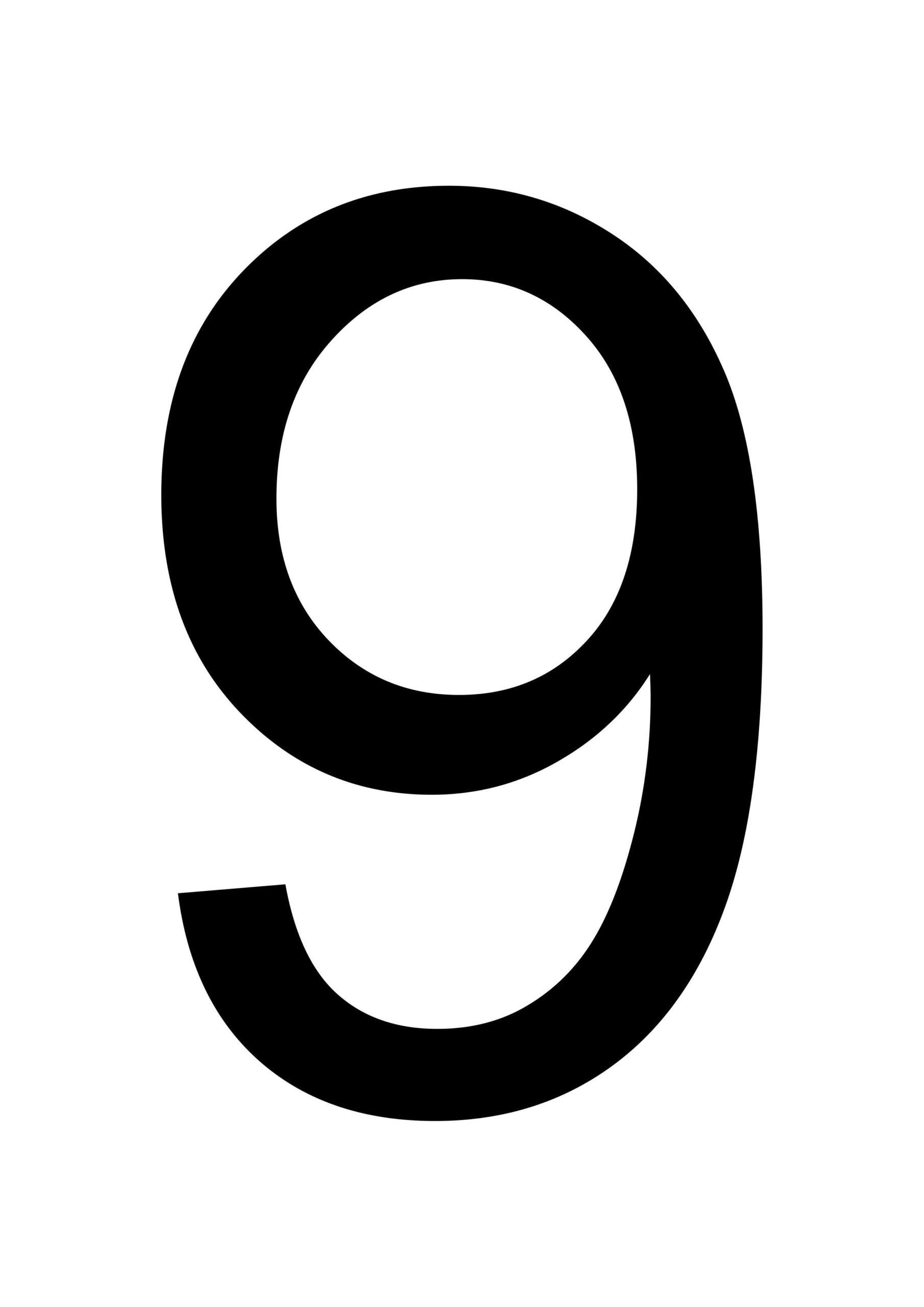 Top Printable Number 9 Roy Blog