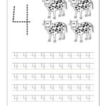 Traceable Number Worksheets 4 Google Search Tracing