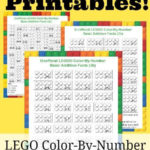 Unofficial LEGO Color By Number Printables Free LEGO